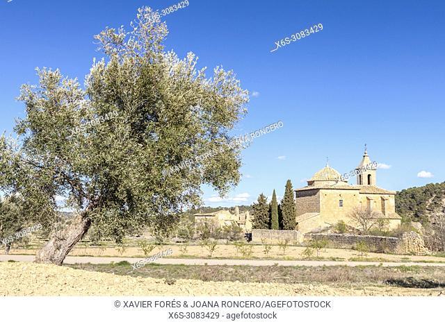 Mas del Llaurador village, Matarraña, Teruel, Spain