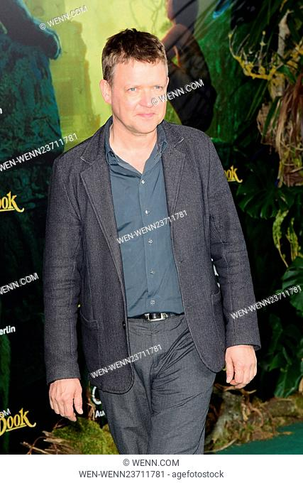 German premiere of 'The Jungle Book' at Zoo Palast movie theater. Featuring: Justus von Dohnanyi Where: Berlin, Germany When: 05 Apr 2016 Credit: WENN