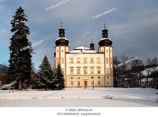 Czech Republic, Krkonose, Vrchlabi castle