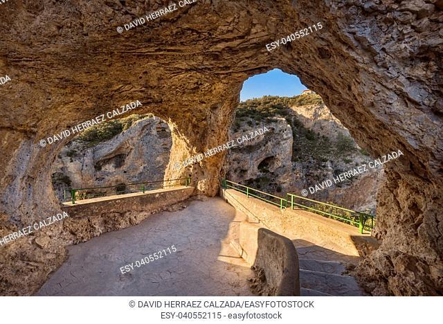 Ventano del Diablo viewpoint in Cuenca, Castilla La Mancha, Spain