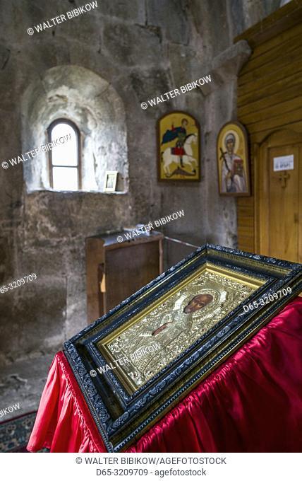 Georgia, Kutaisi, Gelati Monastery, church interior