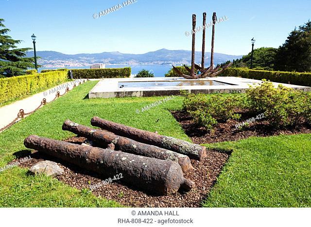 Castro Park, Vigo, Galicia, Spain, Europe