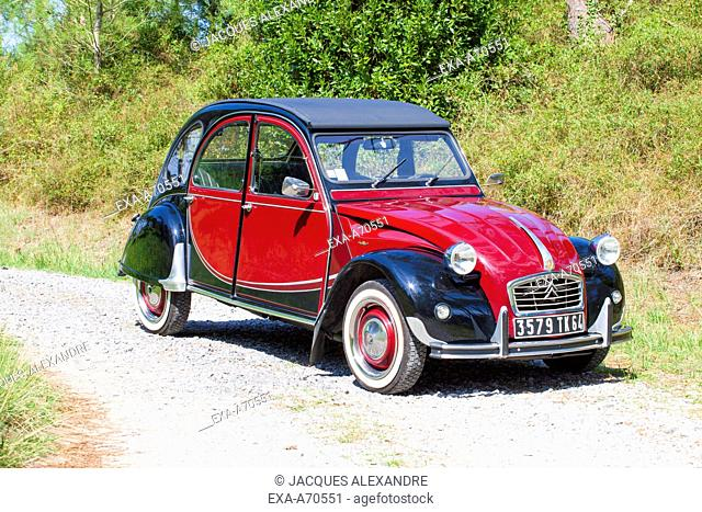 Vintage car Citroen Charleston