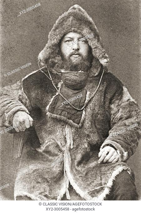 Alexander von Bunge, 1851-1930. Baltic-German physician, zoologist and Arctic explorer. After a 19th century photograph