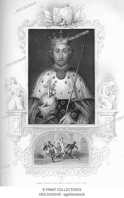 'Richard II', 1859. Artist: George Vertue
