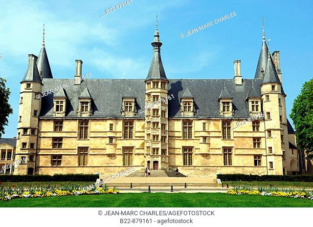 Palais Ducal  (Ducal Palace), Nevers. Nievre, Burgundy, France