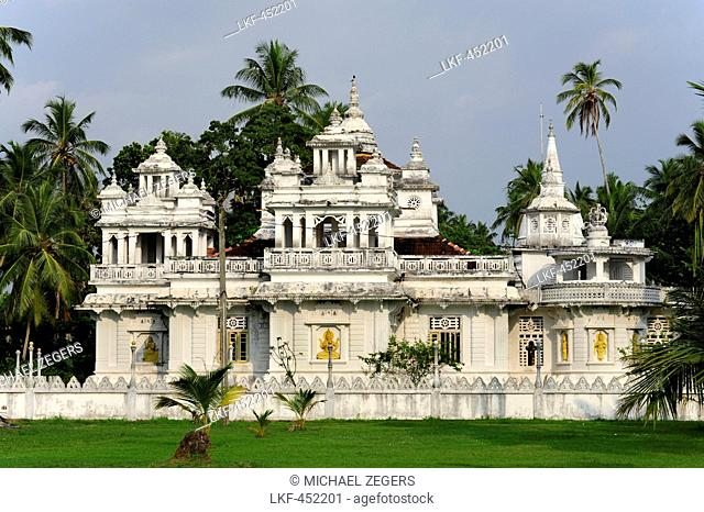 Buddhist temple between Bentota and Ambalangoda, Southern Province, Ceylon, Sri Lanka, Asia