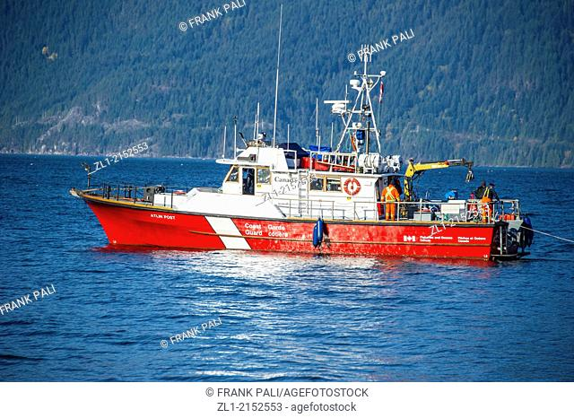 Canadian Coast Guard,Howe Sound,British Columbia