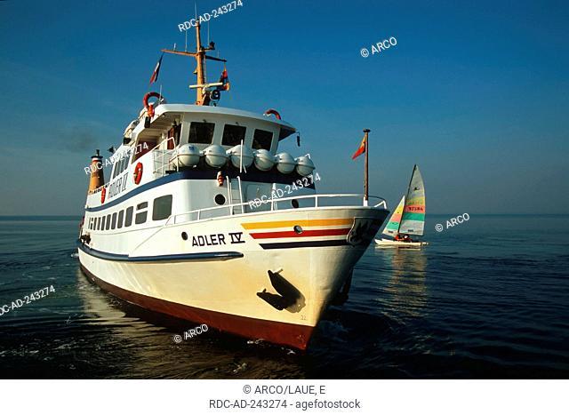 Ship Adler 4 Wittdun Amrum Schleswig-Holstein Germany Wittdün