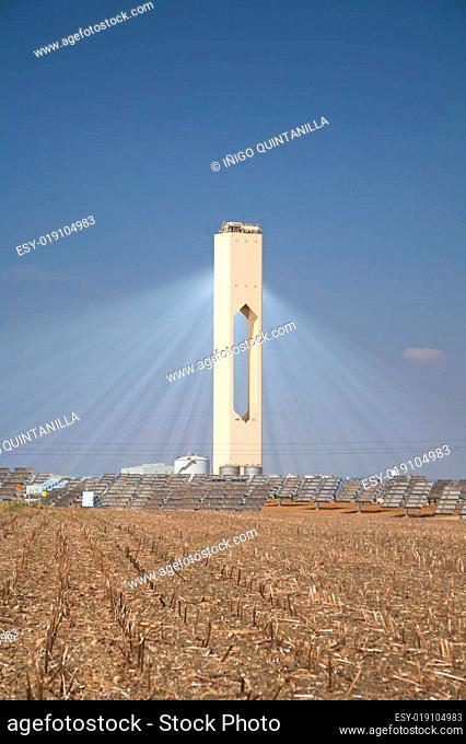 solar power beams