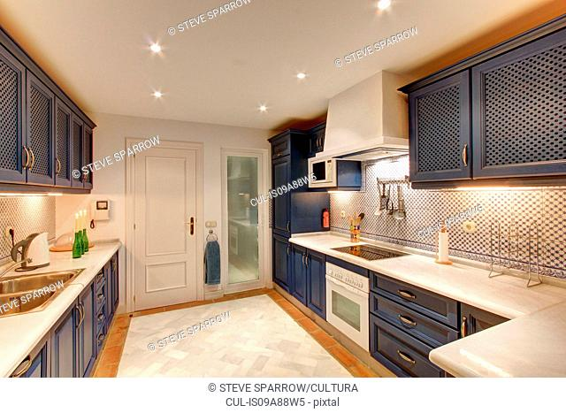 Luxury kitchen in wealthy home