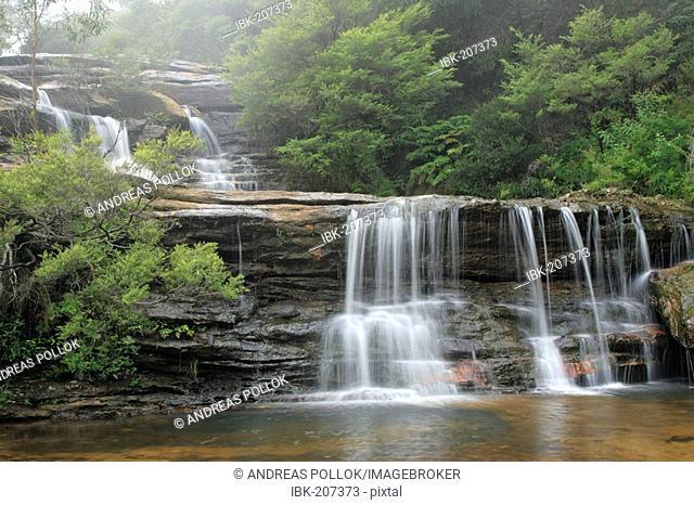 Waterfall, Blue Mountains, New South Wales, Australia