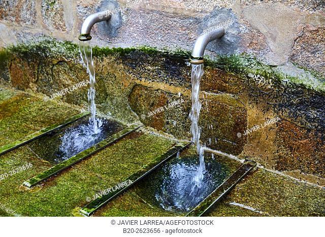 Fountain. Water. Cape Finisterra, Fisterra, A Coruña, Galicia, Spain
