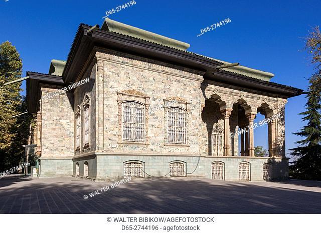 Iran, Tehran, Sa'd Abad Palace Complex, royal summer residence during the Pahlavi period, Green Palace, Shahvand Palace