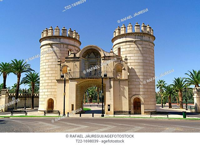 Badajoz Spain  Former Puerta de Palmas in the city of Badajoz