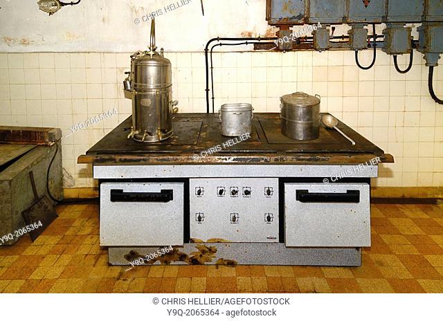 Military Kitchen Fort Saint Gobain Modane France
