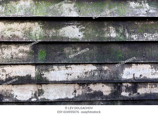 background and texture - close up of old shutter