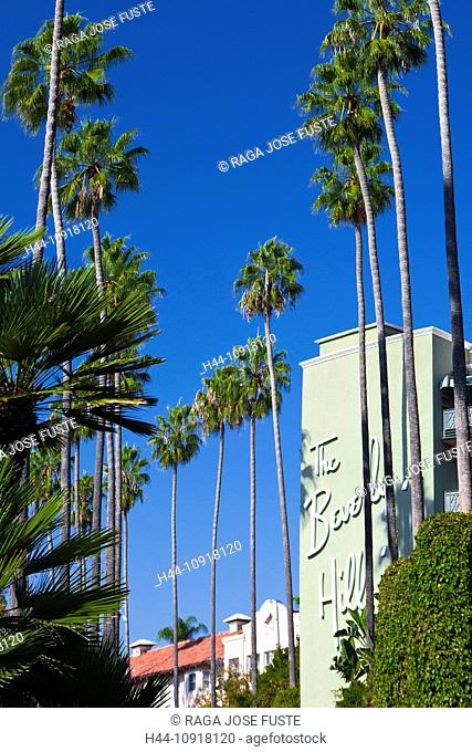 USA, United States, America, California, Los Angeles, City, Beverly Hills, Hotel, attraction, film, Hollywood, movies, entertainment, star
