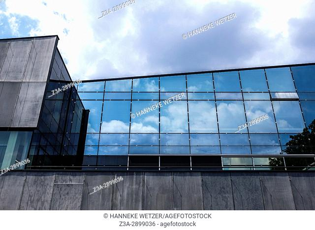 Architecture at the TUE, the Technical University in Eindhoven, The Netherlands, Europe