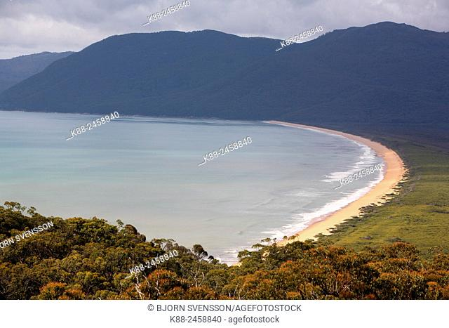 Five Mile Beach. Wilsons Promontory National Park. Victoria, Australia