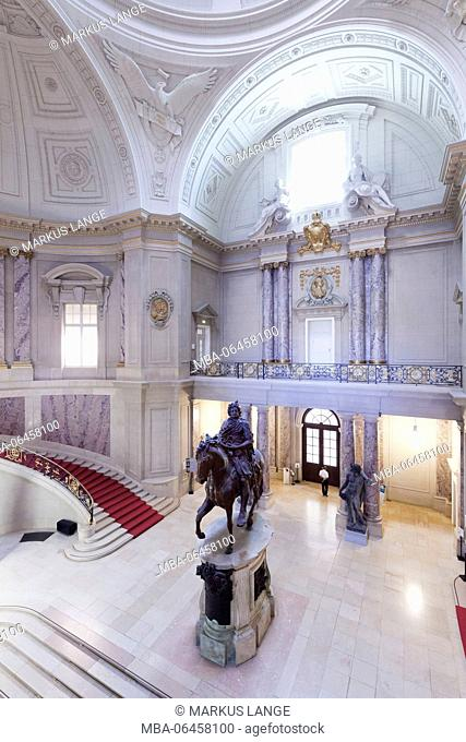Foyer, shipbuilder museum, Museumsinsel / Museum Island, UNESCO world cultural heritage, middle, Berlin, Germany