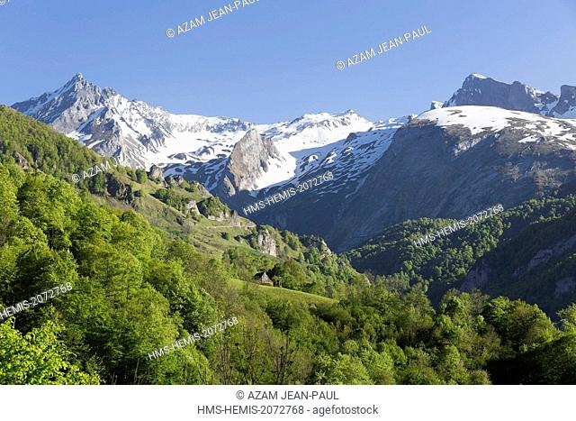 France, Hautes Pyrenees, Ferrieres valley