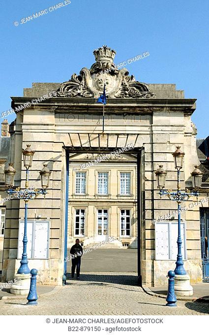 Town Hall, Soissons. Aisne, Picardy, France