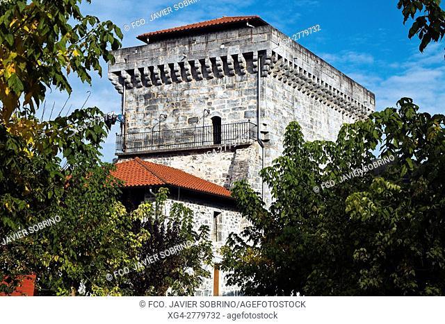 Torre Zabaleta. Lesaka. Cinco Villas. Bortziriak. Navarra. Pirineos. España. Europa