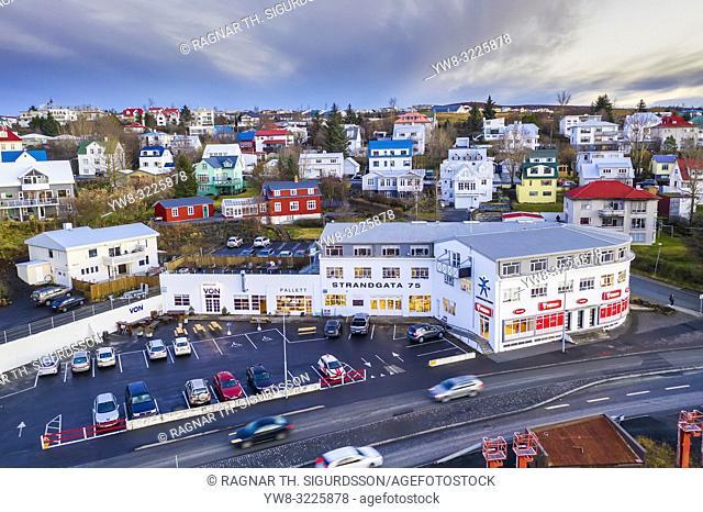 Hafnarfjordur-suburb of Reykjavik, Iceland