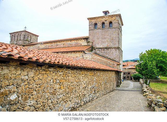 Collegiate church. Santillana del Mar, Cantabria, Spain