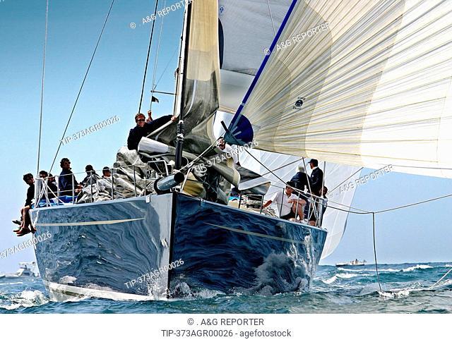 Italy, Portofino, regatta