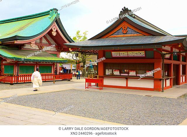 Fushimi Inari Taisha shrine, Fushimi-ku. Kyoto. Japan