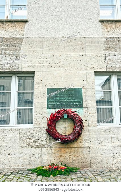 The German Resistance Memorial Center, Bendlerblock, Berlin, Germany, Europe