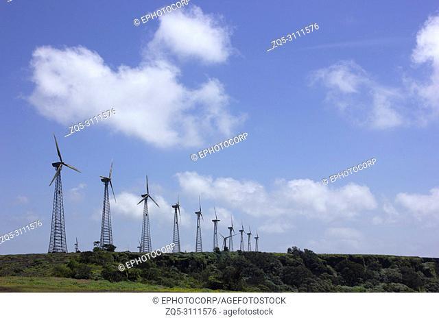 Wind mills, Chalkewadi Satara, Maharashtra, India