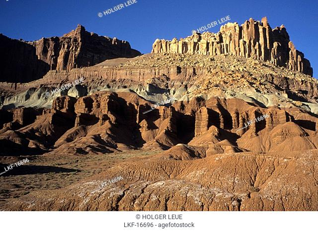 The Castle, Capitol Reef NP, Utah USA