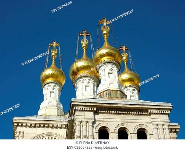 Russian eastern orthodox church in Geneva Switzerland