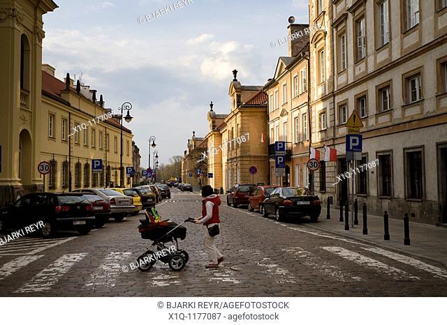 New Town, Warsaw Poland