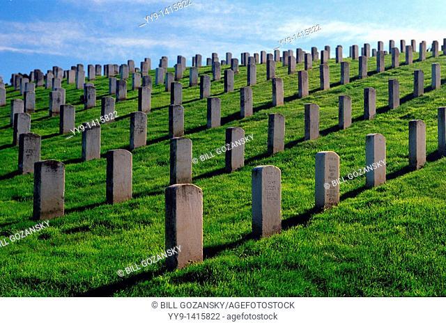 San Francisco National Cemetery - Presidio of San Francisco - San Francisco, California USA