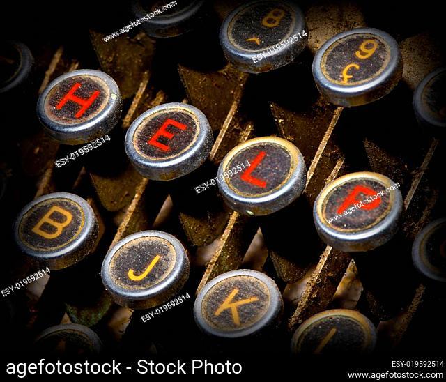 help typewriter keys