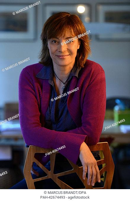 Sex counselor Ann-Marlene Henning sits in her practice in Hamburg,Germany, 17September 2013. Sex among older people is still a taboo topic according to...