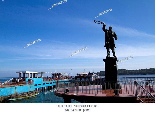 Rajiv Gandhi water sports complex Port blair at Andaman islands India Asia