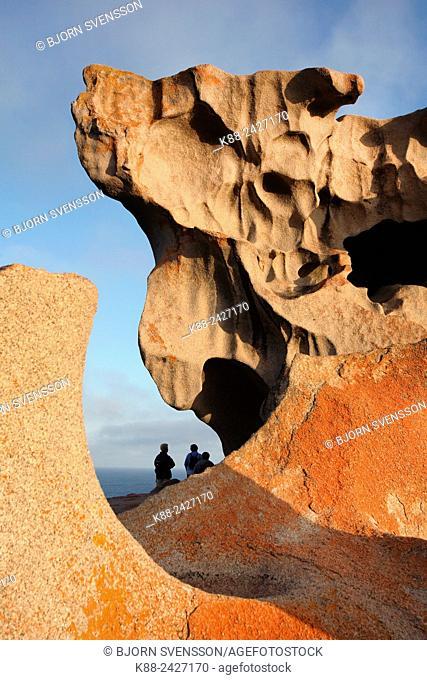 Remarkable Rocks in Flinders Chase National Park. Kangaroo Island, South Australia
