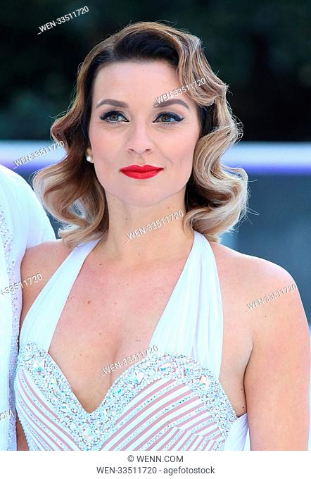 Dancing On Ice 2018 photocall at the Natural History Museum Ice Rink Featuring: Candice Brown Where: London, United Kingdom When: 19 Dec 2017 Credit: WENN