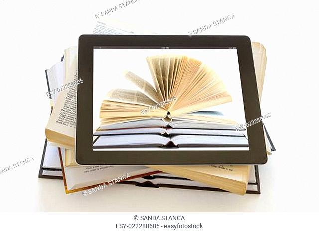 Open Books on iPad 3 concept