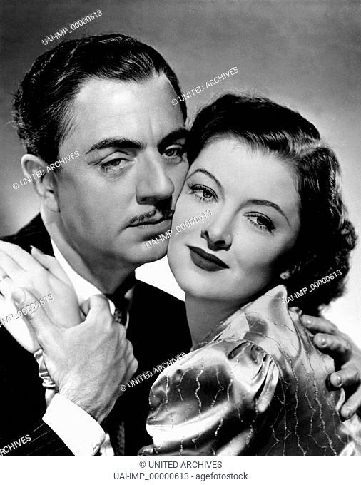 Noch ein dünner Mann, (ANOTHER THIN MAN) USA 1939 s/w, Regie: W. S. van Dyke, WILLIAM POWELL, MYRNA LOY