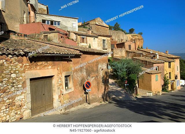 Roussillon; Houses of Roussillon; Village; Provence; France