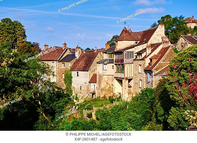 France, Indre (36), Creuse valley, Gargilesse-Dampierre, The most beautiful villages of France