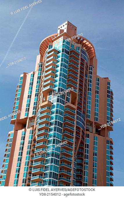 Building in Miami Beach, Florida USA