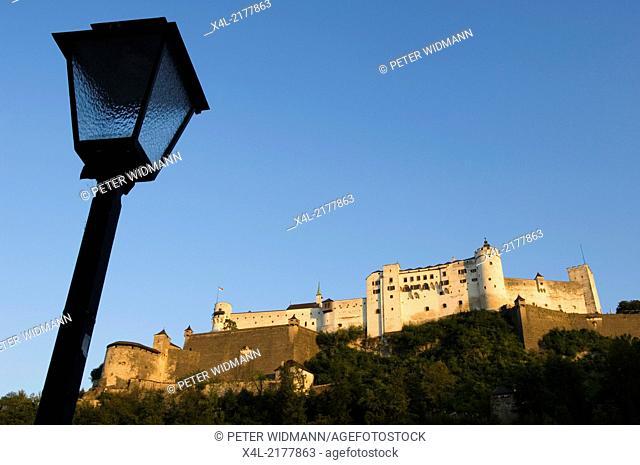 fortress Hohensalzburg, Austria, Salzburg, Salzburg city, castle Hohe Salzburg