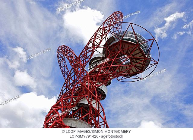Orbit tower by Arcelor Mittal in the Queen Elizabeth Olympic Park in Stratford